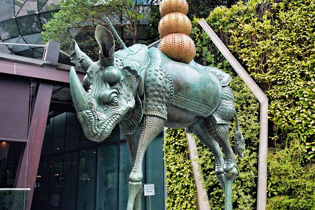 Rhino cosmique Dali